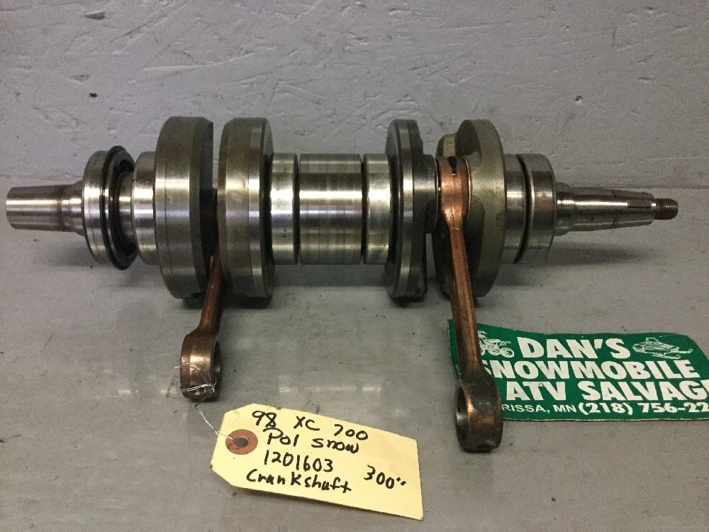 Crankshaft Polaris 98 XC 700 Snowmobile # 1201603