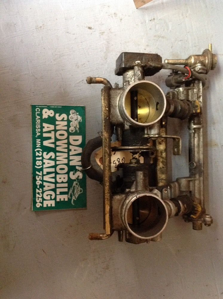 Throttle Body Carburetor # 3004–118 Arctic Cat 1995 ZR 580 EFI Blue Snowmobile