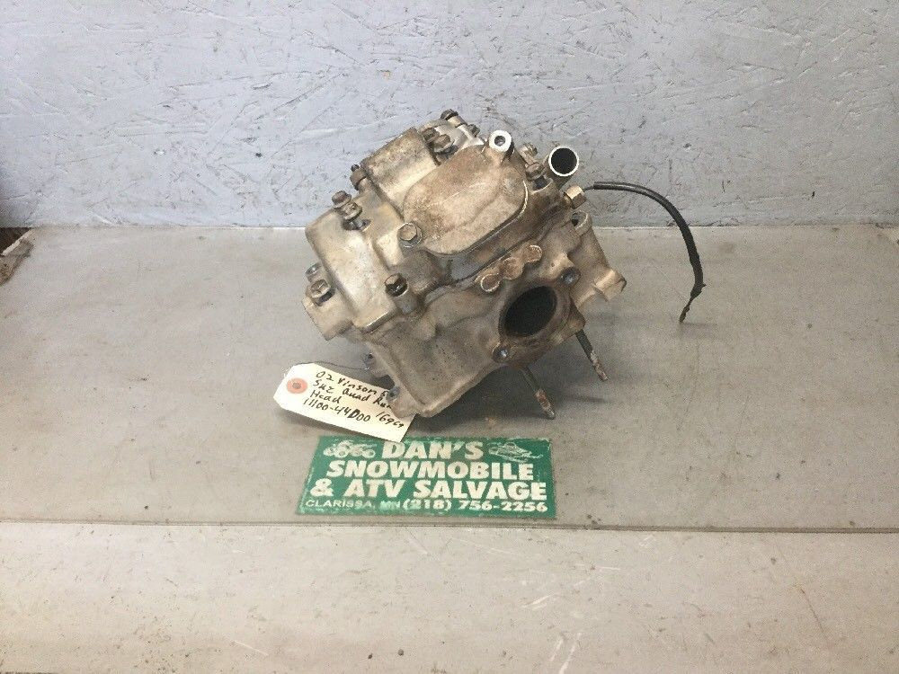 Cylinder Engine Head # 11100-44D00 Suzuki 2002 Vinson 500 Quad Runner 4x4 ATV