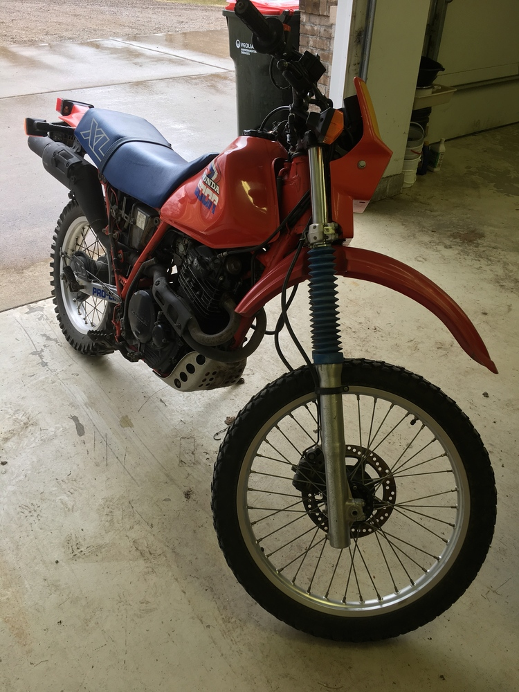 Piston Index - 1985 Honda XL600R