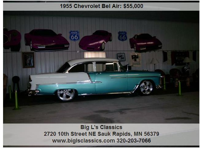 Piston Index - 1955 Chevrolet Bel Air Blue 5000 miles