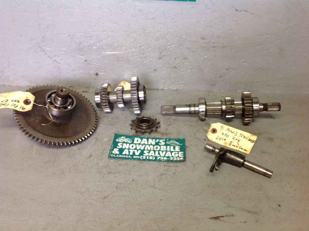 Transmission Gears Polaris 91 Trail Boss 250 2x4