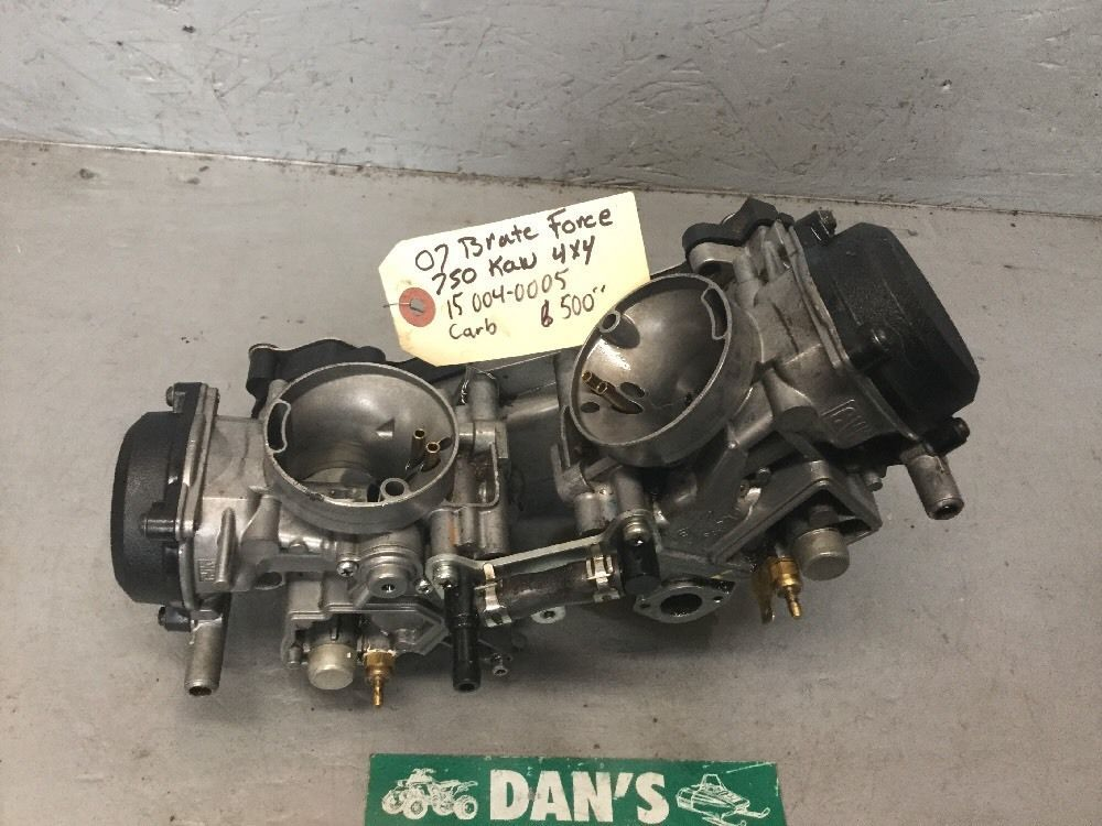 Carburetor Assembly Kawasaki 07 Brute Force 750 4x5 ATV # 15004–0005