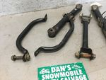 Swing Arm Support Brackets # 46102-1241, 46102-1213 Kawasaki 1998 Bayou 300 ATV